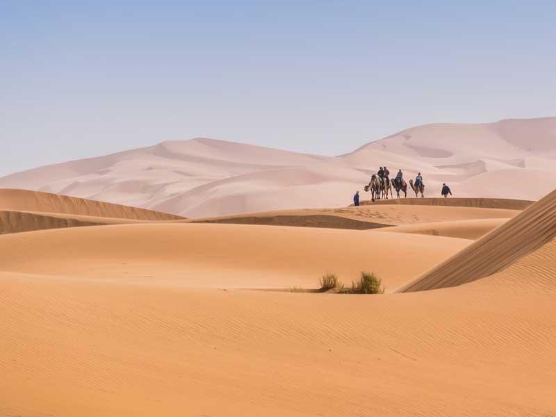 Balade dunes Chegaga