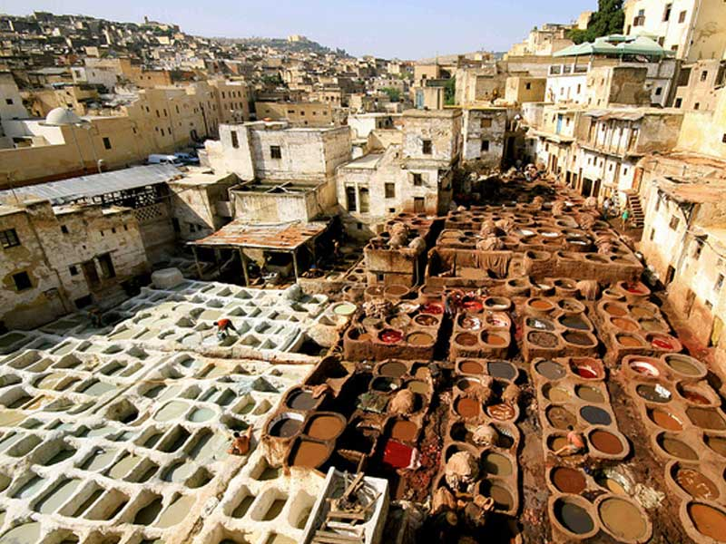 Tanneries Fes